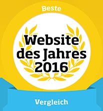 HeizOel24 - Website des Jahres 2016 - Kategorie Vergleich