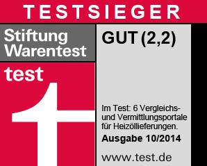 Stiftung Warentest-Heizoel24